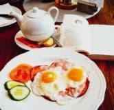 Vital bistro krnov snídaně